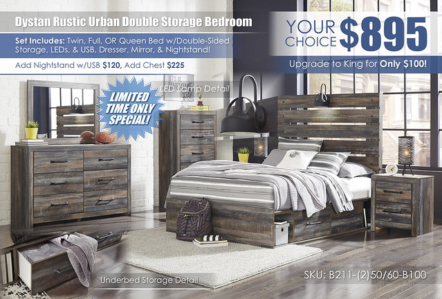 Drystan Urban Rustic Double Storage Bedroom Set_B211_stamp