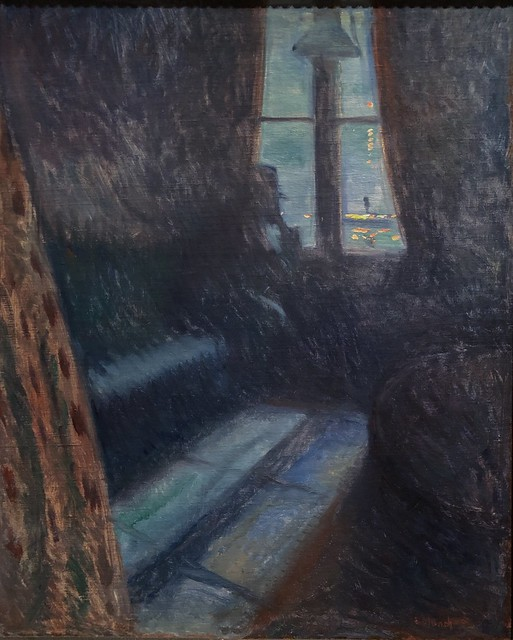 1893, Edvard Munch, Night in Saint-Cloud