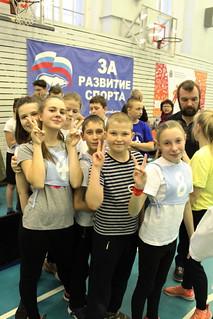 10.11.2019 | XVI ежегодный спортивный фестиваль для воспитанников воскресных школ Новгородского благочиния