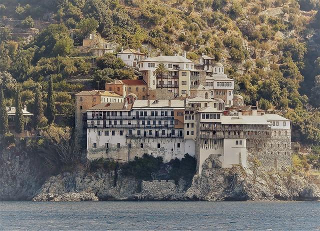 Mount Athos Monastery Buildings