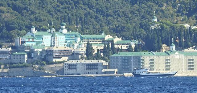 Russian Monastery Panorama