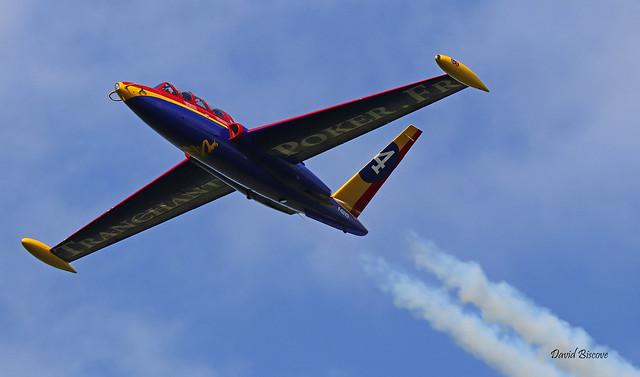 Fouga CM170 Magister n° 455  ~ F-GSYD