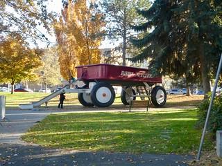 Day 2 - Dash to Spokane - Spokane downtown walk 15 - Big Wagon