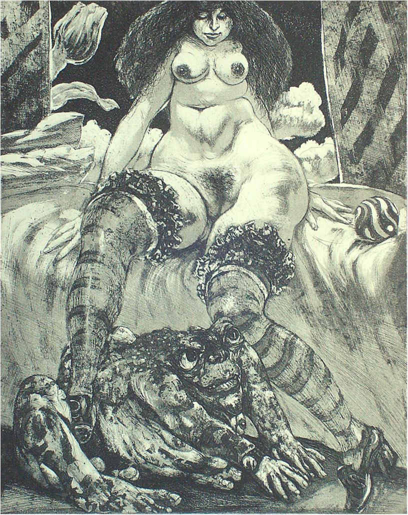 "Fritz Aigner - Frog King - from ""The Beauty and the Beast"" series"