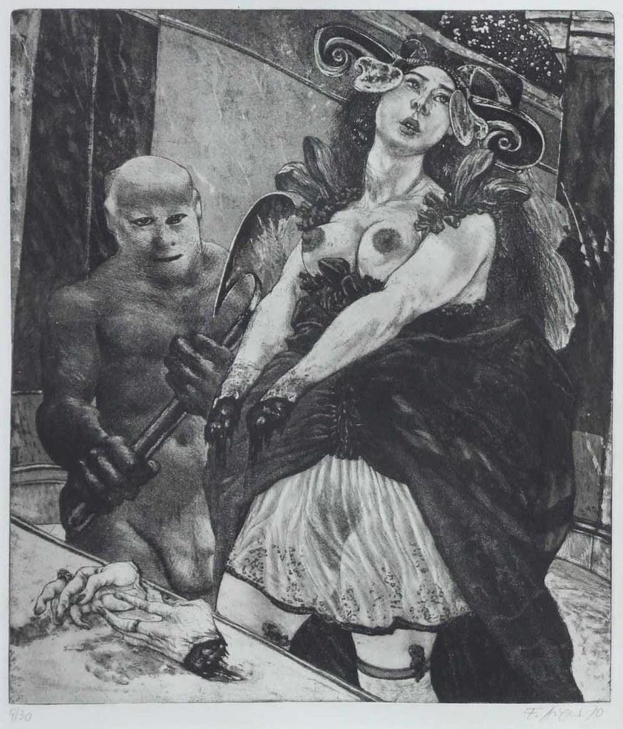 Fritz Aigner - Figures, 1970