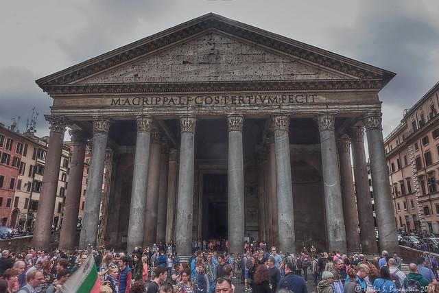 Pandemonium at the Pantheon!