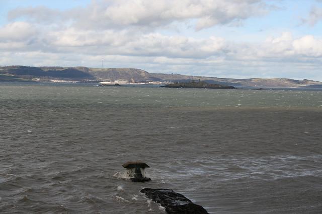Fife from Cramond Island
