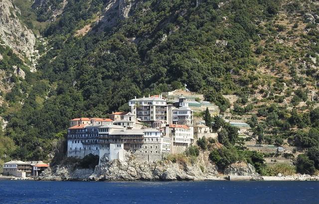 Gregoriou Monastery - Panorama