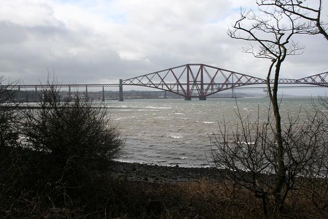The Forth Bridge near Dalmeny