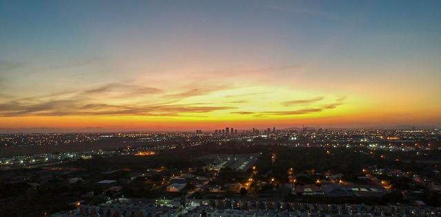 Pôr do Sol no Sertão da Bahia #dronephotography #djispark #drone #DroneDJI #DroneBahia #aerial_view #aerialview #viewfromthetop #dji  #drones #dronelife #droneworld #droneshot #aerialphotography