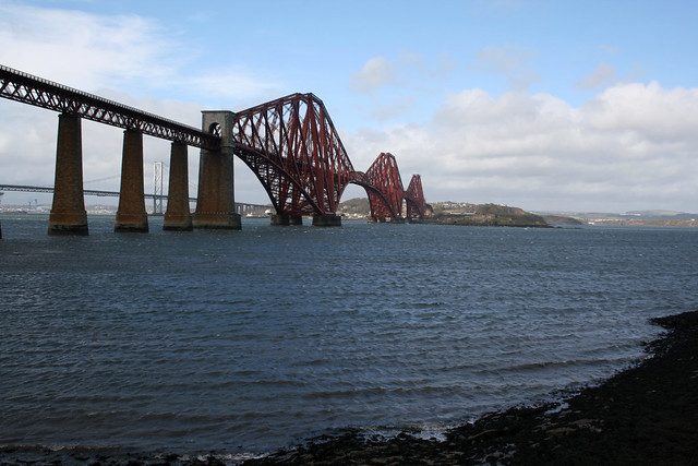 The Forth Bridge at Queensferry