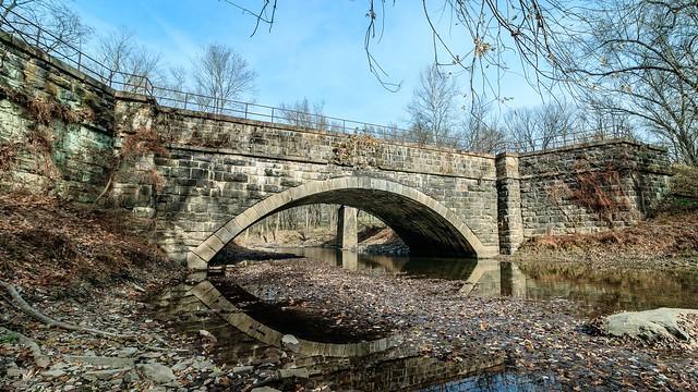 Pano of Town Creek Aqueduct