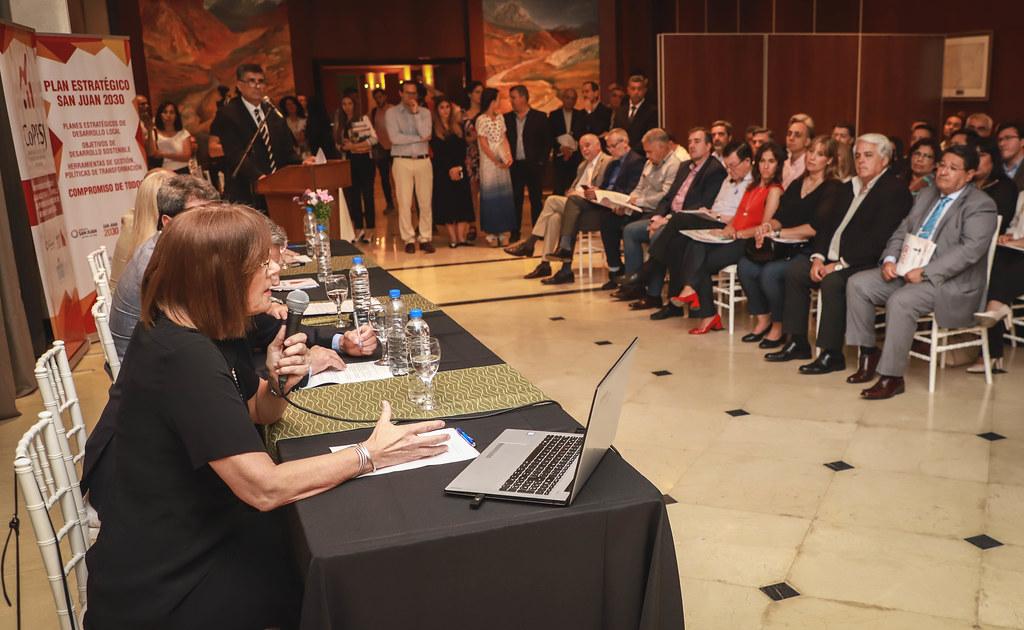 2019-11-12 PRENSA: Plan Estratégico Provincial San Juan 2030