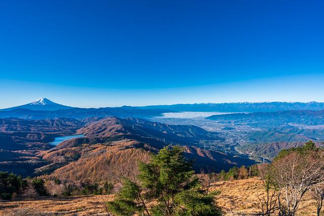 富士山~南アルプス@雷岩