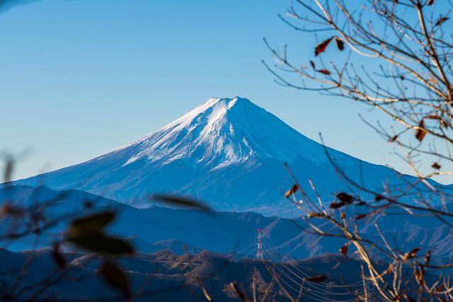 富士山のお出まし@唐松尾根