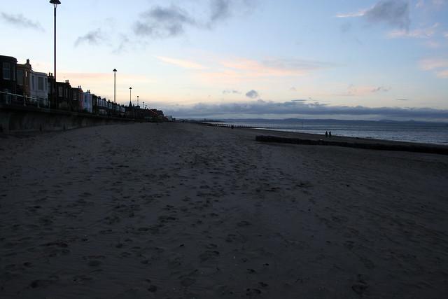 The beach at Portobello, Edinburgh