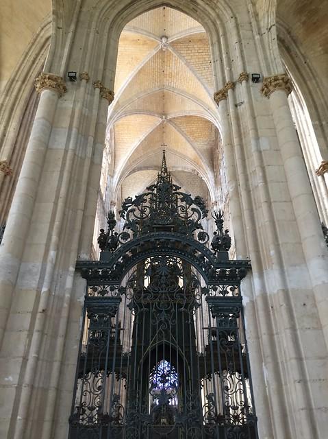 The Abbatiale St. Ouen in Rouen, France.