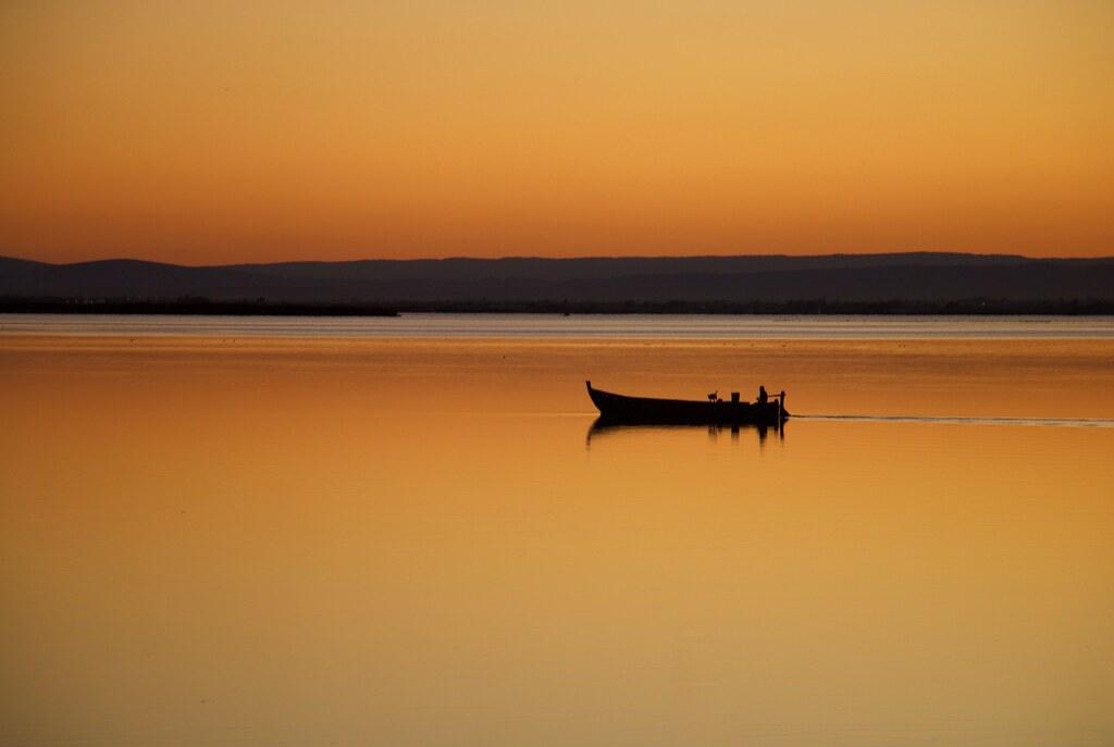 L'home, el gos i la barca.