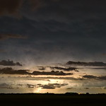 24. Juuli 2019 - 23:15 - This storm was quite far away when I took this photo.  It was still flashing like crazy though. Edgeley, Saskatchewan July 2019