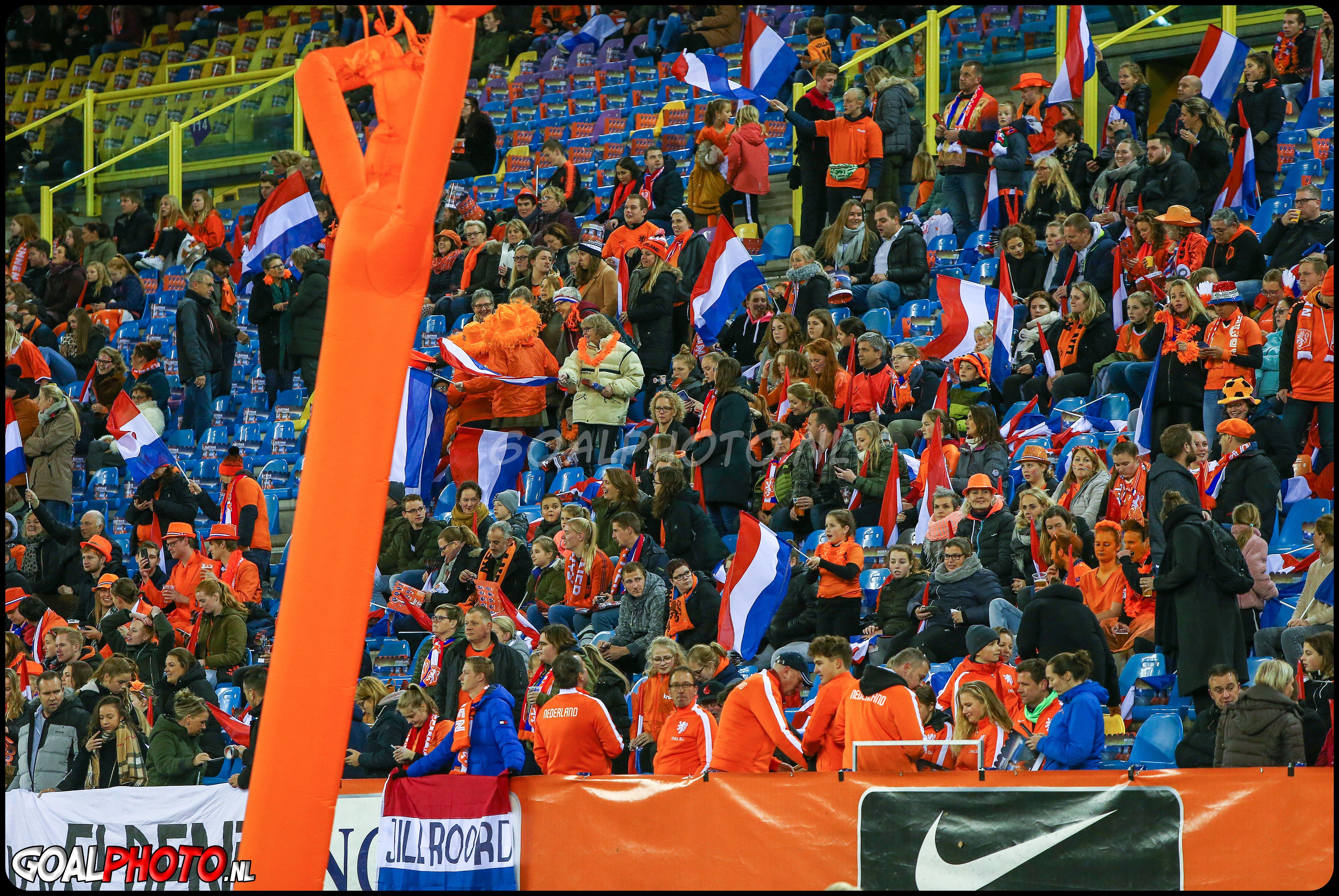Nederland - Slovenië 12-11-2019