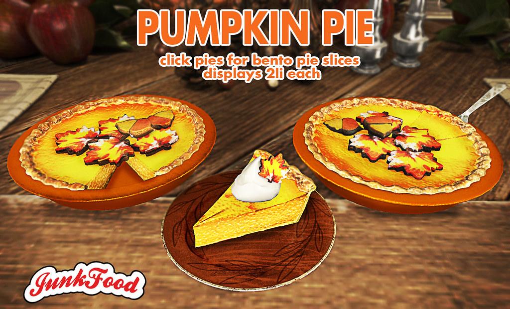 Junk Food - Pumpkin Pie Ad