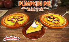 Junk Food - Pumpkin Pie Ad