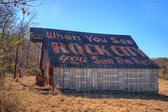 When You See Rock City You See the Rest barn - Crab Orchard, Tennessee