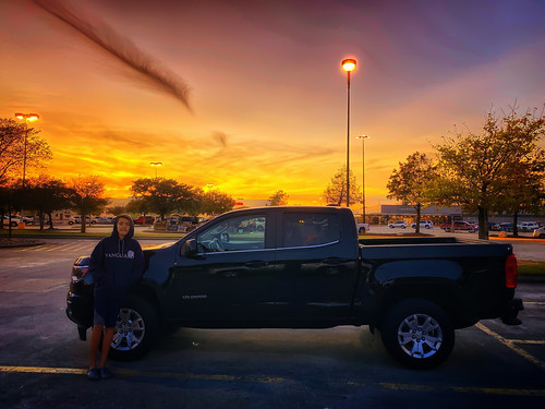truck texas sunset houston chevy colorado