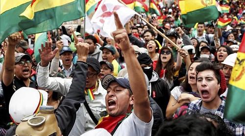 Presidente Maduro insta a militares bolivianos a cesar represión contra movilizaciones populares