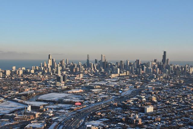 Kennedy Expressway - Chicago, IL USA