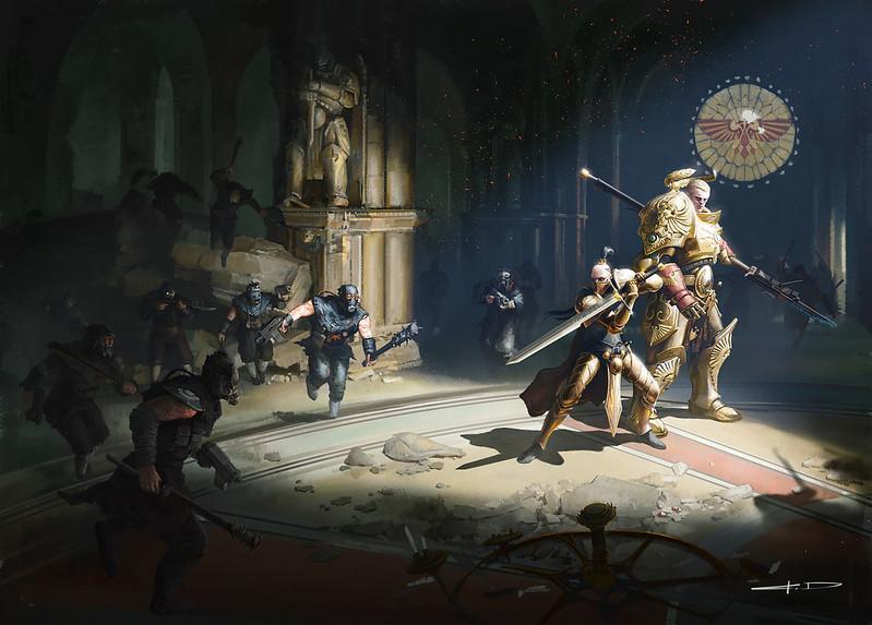 Крис Райт «Хранители Трона: Тень регента» | Chris Wraight's Watchers of the Throne: The Regent's Shadow