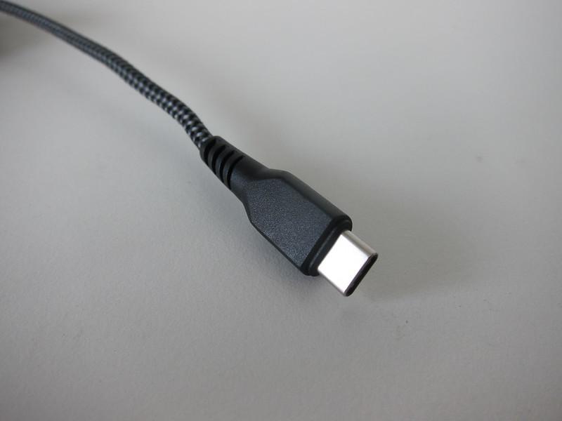 Energea FibraTough USB-C to Lightning Cable - USB-C End