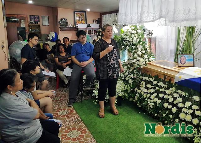 Judge Bañez Tribute_Wife Speaking