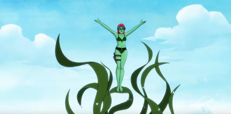 Harley Quinn - Poison Ivy