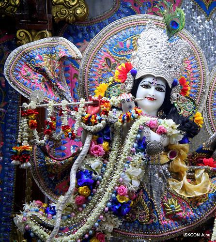 ISKCON Juhu Sringar Deity Darshan on 13th Nov 2019