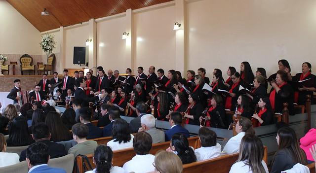 Lirquén recibe sacramento de Santa Cena