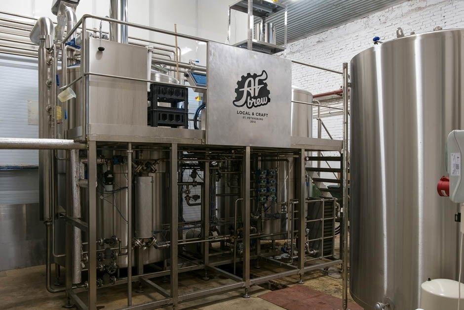 AF Brew будет проводить экскурсии по заводу