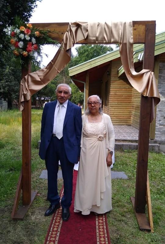 """""""Tu pueblo será mi pueblo, y tu Dios mi Dios""""  50 años de Aniversario  matrimonial en Santa Juana"""