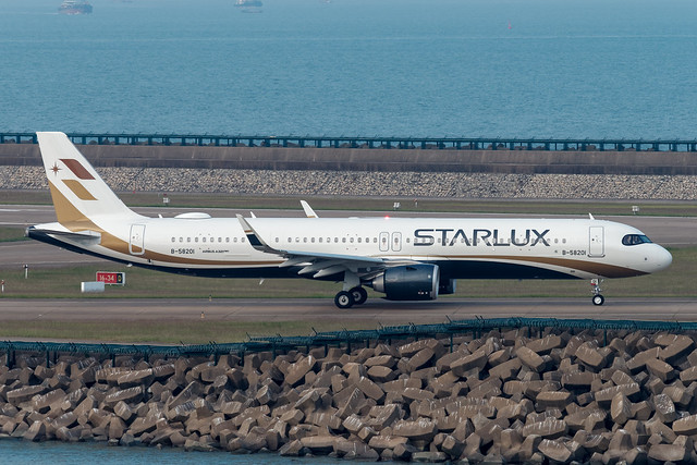 STARLUX Airlines Airbus A321-252NX B-58201