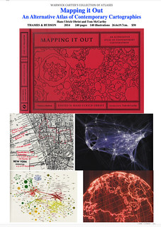 Mapping it Out, An Alternative Atlas of Contemporary Cartographies by Hans Ulrich Obrist and Tom McCarthy - THAMES & HUDSON