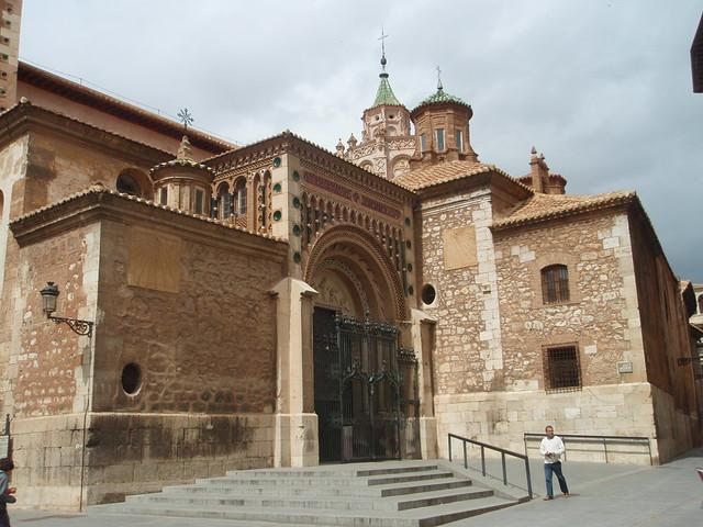Teruel - Catedral mudéjar de Santa María.