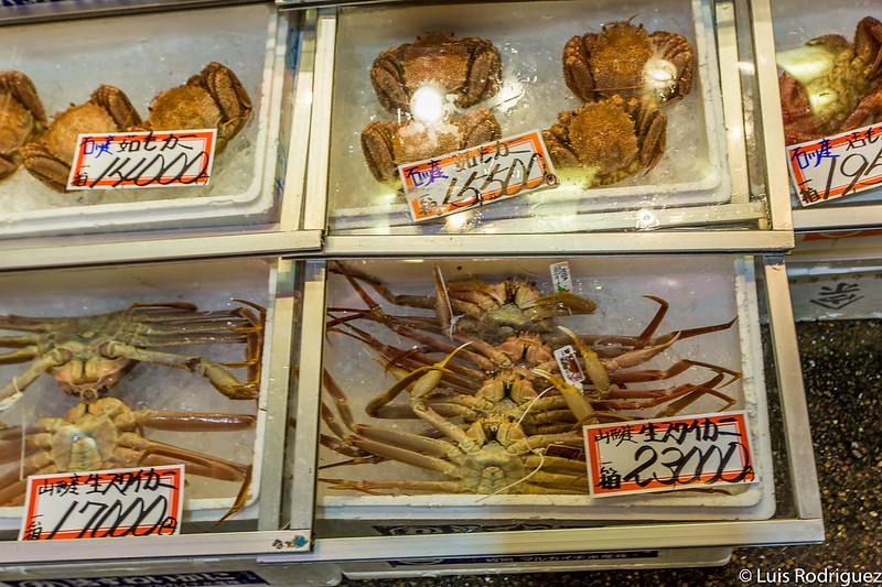 Cangrejos y más cangrejos