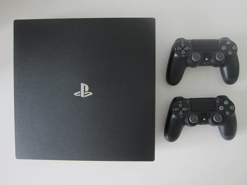 PS4 Pro - With 2x DualShock 4 Wireless Controller