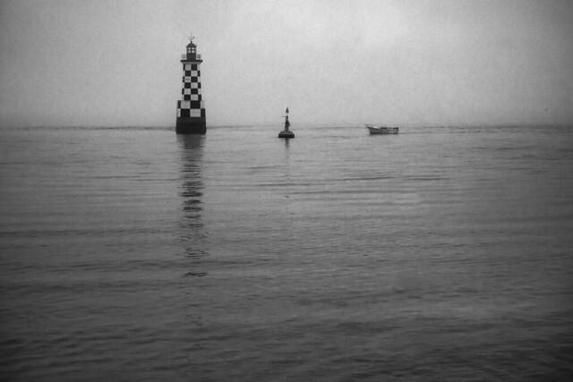 Horizon blanc 2- phare de la Perdriw, Loctudy