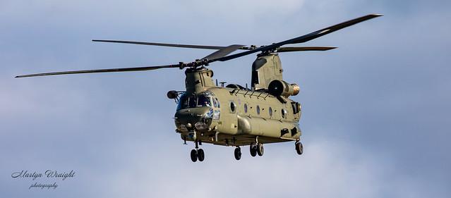 RAF Boeing HC4 CH47 Chinook