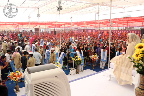 View of Satsang Programme