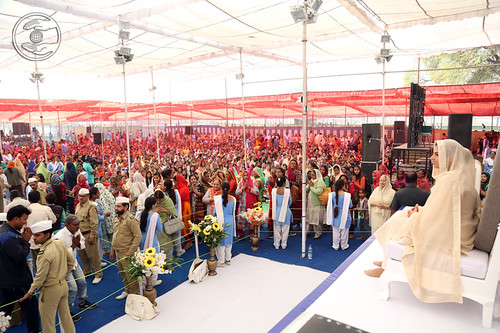 A view of Satsang Programme