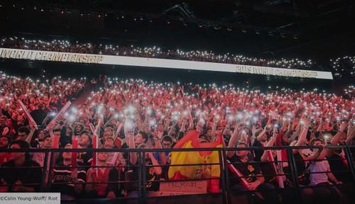 League of Legends Worlds 2019 crowd