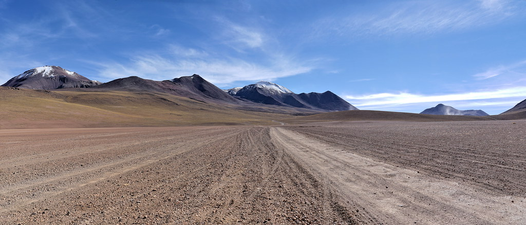 Our track in a somptuous landscape