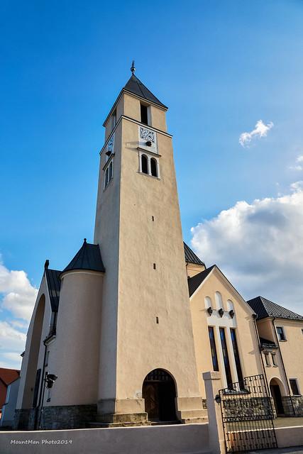 Toranj župne crkve u Krašiću